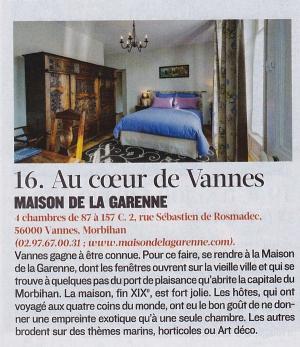 Le Figaro Magazine, spécial Chambres d'hôtes