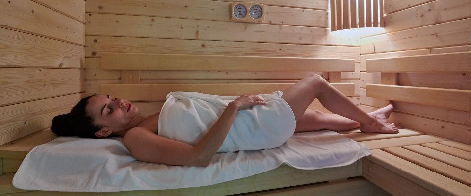 sauna modele allongee