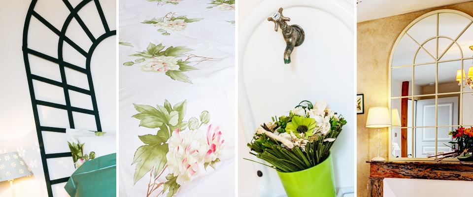 Chambre Au jardin - Ambiance