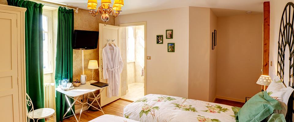 Chambre Au jardin - Tout confort
